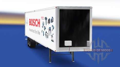 Haut Bosch auf dem Anhänger für American Truck Simulator