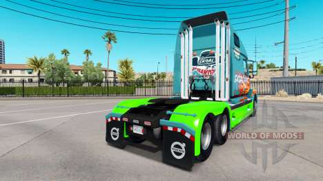 Skoal Bandits de la peau pour les camions Volvo VNL 670 pour American Truck Simulator