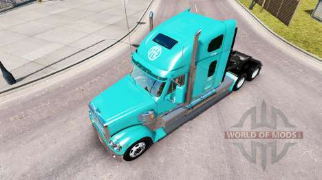 Haut FFE auf dem truck-Freightliner Coronado für American Truck Simulator