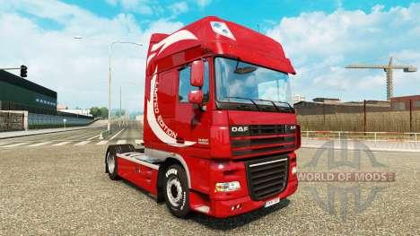 La peau Limited Edition v2.0 camion DAF pour Euro Truck Simulator 2