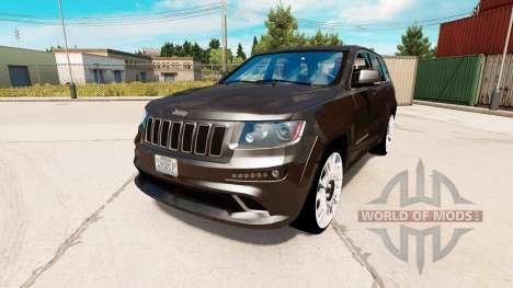 Jeep Grand Cherokee SRT8 pour American Truck Simulator