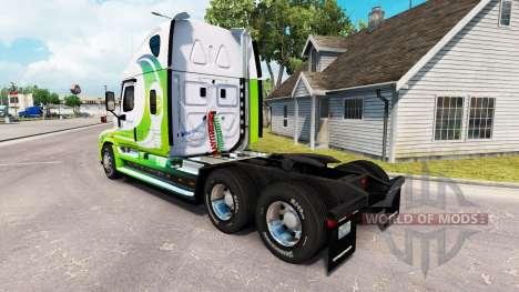 Haut-HYBRID-Zugmaschine Freightliner Cascadia für American Truck Simulator