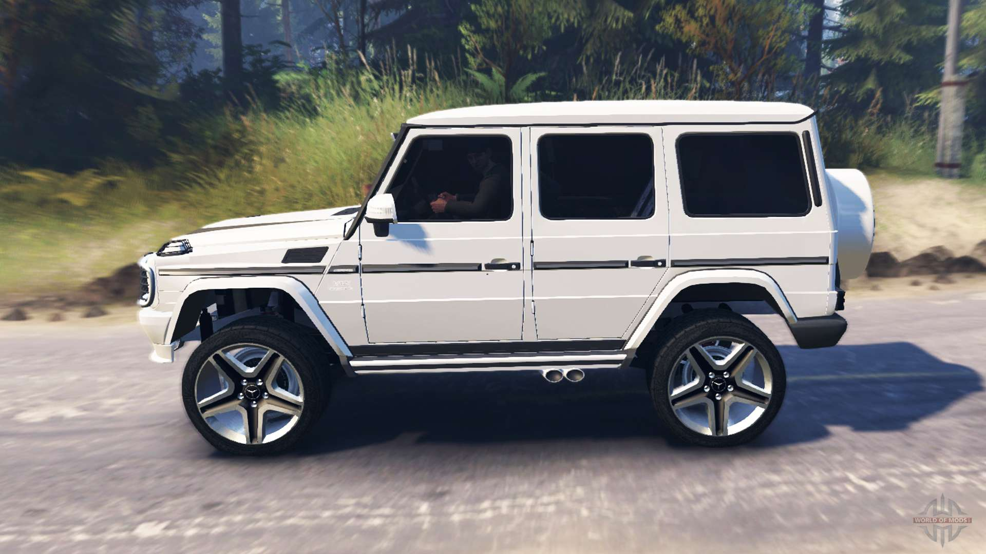 Mercedes benz g65 amg pour spin tires for Tires for mercedes benz