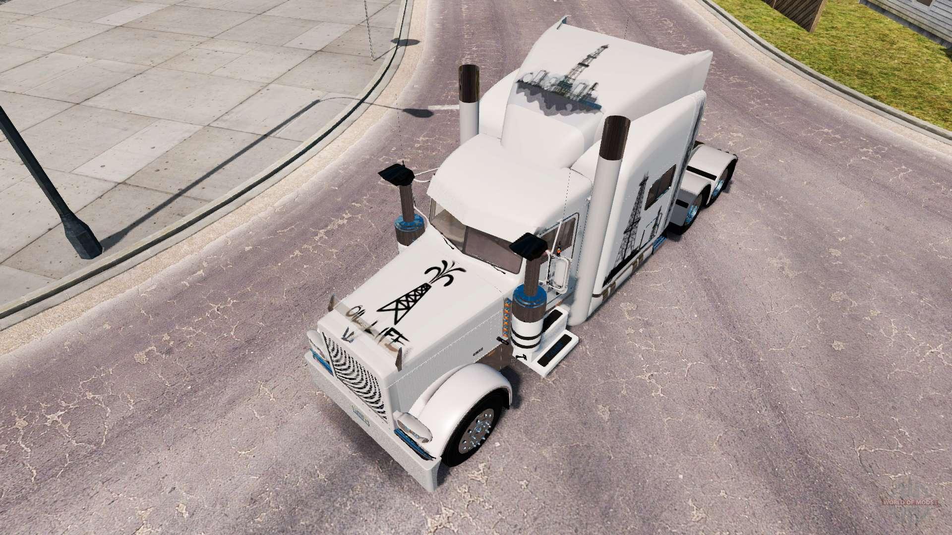 haut life l f r den truck peterbilt 389 f r american truck simulator. Black Bedroom Furniture Sets. Home Design Ideas