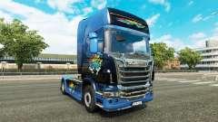 Disaster Transport skin für den Scania truck