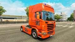 La peau Hazzard v2.0 camion Scania