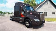 Haut Gallone Öl-truck Peterbilt