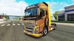 Spencer Hill-skin für den Volvo truck