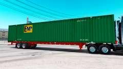 Auflieger container-EMP