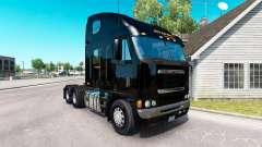 La peau ShR Allemagne sur le camion Freightliner