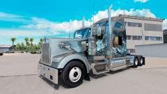 La peau Viking pour camion Kenworth W900