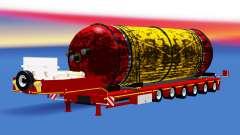 Faible balayage avec un réservoir de cargaison