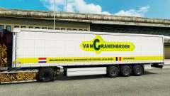 La peau Vancranenbroek pour les remorques