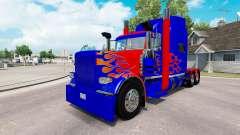 La peau Optimus Prime v2.1 pour le camion Peterb