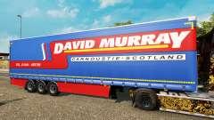 Vorhang Auflieger Krone David Murray