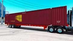 Auflieger container-STAX