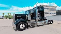 La peau Redskin v1.2 sur le camion Kenworth W900