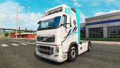 De la peau pour Volvo camion
