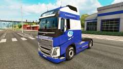 Le klg de la peau pour Volvo camion