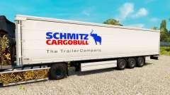 De la peau pour des Schmitz semi-remorques