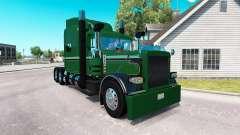 Haut Seidler LKW für das truck-Peterbilt 389