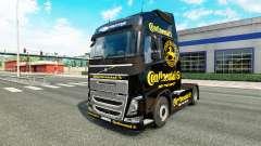 Continental de la peau pour Volvo camion
