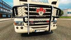 Le pare-chocs V8 v2.0 camion Scania