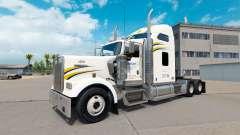 La peau Walmart sur le camion Kenworth W900