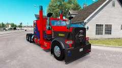 La peau Nevada aux états-unis pour le camion Pet