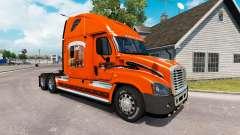 Haut in die SCHNEIDER-LKW Freightliner Cascadia