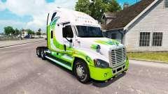 La peau HYBRIDE tracteur Freightliner Cascadia