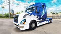 Blue Shark-skin für den Volvo truck VNL 670