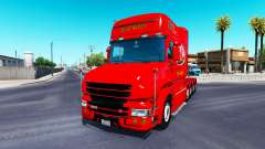 Dom Toretto Haut für LKW Scania T