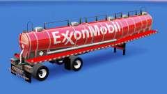 Haut ExxonMobil chemical tank