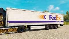 FedEx peau pour les remorques
