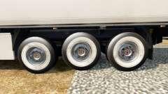 De nouvelles roues pour remorques