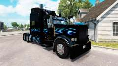Bluesway de la peau pour le camion Peterbilt 389