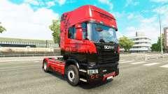La peau d'Istanbul pour tracteur Scania