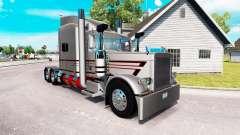 De la peau pour MBH Trucking LLC camion Peterbil