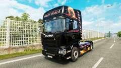 Ghost Rider la peau pour Scania camion