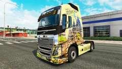 L'indonésie peau pour Volvo camion