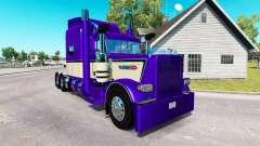 Metallic Purple skin für den truck-Peterbilt 389