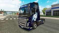 Stilvolle skin für Volvo-LKW