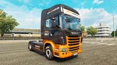 La peau Simuwelt sur tracteur Scania