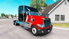 La peau CNTL sur le camion Freightliner Coronado