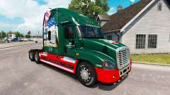 Скин INTERSTATE 80 Jahr на Freightliner Cascadia