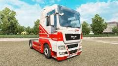 La peau sur TruckSim tracteur HOMME