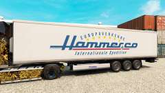 Haut Hammer für semi-refrigerated