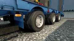 Doubles roues pour remorques