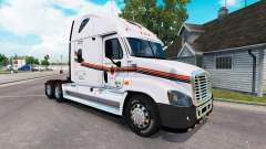 Haut auf METROPOLITAN-LKW Freightliner Cascadia